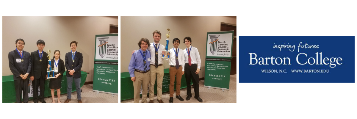 NCCEE Announces the State Champions of the 2017 NC Economics Challenge!