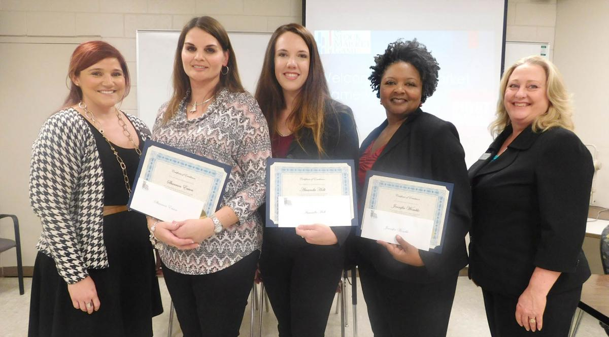 Central Carolina Community College won the collegiate division in recent competition of the Stock Market Game.